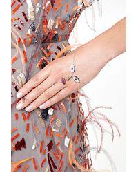 Delfina Delettrez - Blue Kiss My Hand Bracelet - Lyst