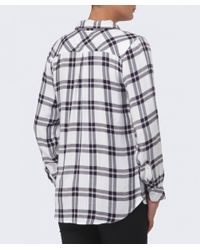 Rails - Black Hunter Plaid Flannel Shirt - Lyst