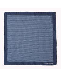 Tommy Hilfiger | Blue Silk Tailored Pocket Square for Men | Lyst