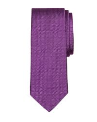 Brooks Brothers | Purple Solid Square Tie for Men | Lyst