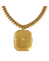 "Lulu Frost - Metallic ""What A Gem"" Short Locket - Lyst"