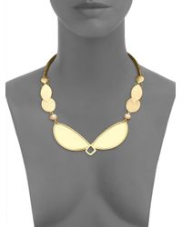 Stephanie Kantis - Metallic Metamorphosis Mother-of-pearl Collar Necklace - Lyst