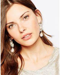 ALDO - Metallic Aidia Drop Earrings - Lyst