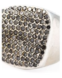 Rosa Maria | Metallic 'harir' Chunky Ring | Lyst