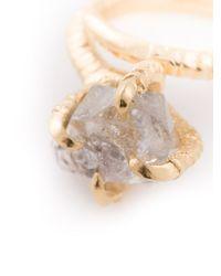 Bjorg | Metallic Crystal Engagement Ring | Lyst