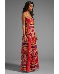 Mara Hoffman   Slip Gown in Red   Lyst