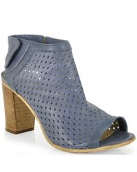 275 Central | Blue Perforated Slingback | Lyst