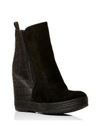 Moda In Pelle | Black Adriano High Casual Short Boots | Lyst