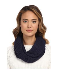 UGG | Black Sequoia Twisted Solid Knit Snood | Lyst