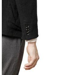 Barena - Black Washed Wool Gauze Jacket for Men - Lyst