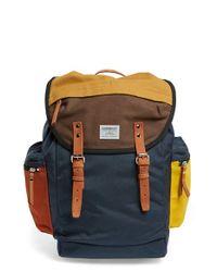 Sandqvist - Blue 'lars-goran' Backpack for Men - Lyst