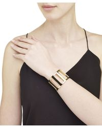 Arme De L'Amour | Metallic Large Stripe Bracelet | Lyst