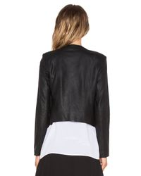 BB Dakota - Black Alaura Leather Jacket - Lyst
