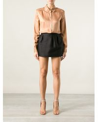 Valentino | Brown Lace T-shirt | Lyst