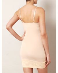 Yummie By Heather Thomson - Natural Lavonne Slip Dress - Lyst