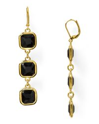 kate spade new york - Green Frame Of Mind Drop Earrings - Lyst