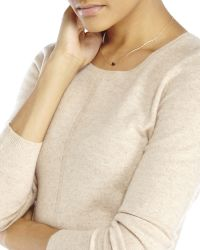 In Cashmere - Natural Petite Knit Sweater - Lyst