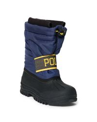 Ralph Lauren - Blue Jakson Snow Boot - Lyst