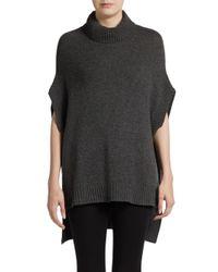 BCBGMAXAZRIA - Gray Kasia Hilo Knit Sweater - Lyst