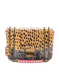 Marc Jacobs | Multicolor Mini Polly Printed Snakeskin Shoulder Bag | Lyst