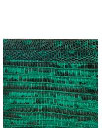 Christian Louboutin - Green Kios Lizard Cardholder for Men - Lyst