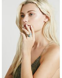 Free People - Blue Fp Collection Womens Caged Cuff Ring - Lyst