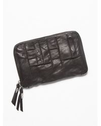 Free People | Black Patched Travel Wallet | Lyst