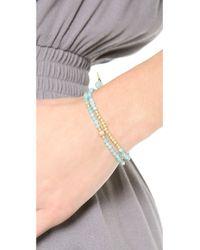 Tai - Blue 4-Strand Turquoise Beaded Bracelet - Lyst