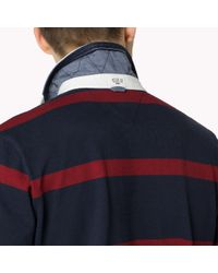 Tommy Hilfiger | Blue Cotton Rugby Shirt for Men | Lyst