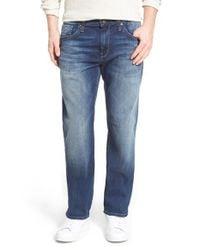 Mavi Jeans Blue 'zach' Straight Leg Jeans for men