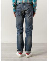 RRL - Blue 'midland' Jeans for Men - Lyst