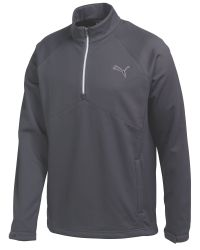 PUMA | Blue Warm Storm Plain Half Zip Neck Zip Fastening Jump for Men | Lyst