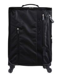 Calvin Klein - Black Wheeled Luggage - Lyst