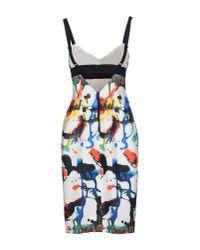 MILLY - White Knee-length Dress - Lyst