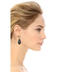 Alexis Bittar | Metallic Georgian Lace Dangling Earrings - Black | Lyst