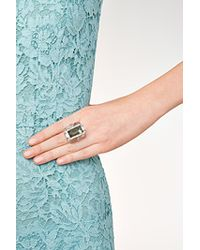 Alexis Bittar | Metallic Santa Fe Deco Large Ice Cube Cocktail Ring | Lyst