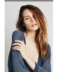 Free People - Blue Ithil Metalworks Womens Stacked Turquoise Ring - Lyst