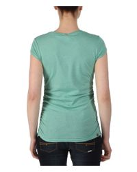 Bench - Green Deskstart Ii Short Sleeve Corp T Shirt - Lyst