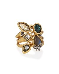 Alexis Bittar | Multicolor Elements Confetti Charm Cocktail Ring for Men | Lyst