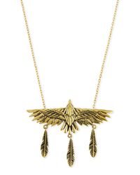 Pamela Love | Metallic Aguila Brass Eagle Pendant Necklace | Lyst