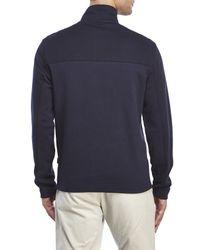 Perry Ellis | Blue Quarter-Zip Pullover for Men | Lyst