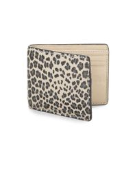 Marc By Marc Jacobs - Multicolor Leopard Martin Wallet - Lyst