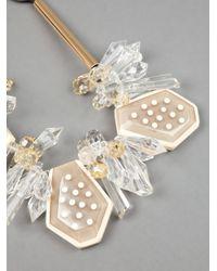 Marni - Multicolor Multi Pendant Necklace - Lyst