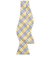 Brooks Brothers | Yellow Bb1 Plaid Bow Tie for Men | Lyst