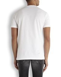 Dolce & Gabbana - White James Dean Print Cotton T-Shirt for Men - Lyst