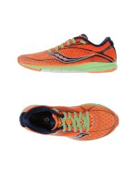 Saucony | Orange Low-tops & Trainers | Lyst