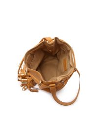 See By Chloé - Brown Vicki Small Bucket Bag - Grey - Lyst