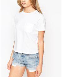 ASOS | Blue The Pocket T-shirt | Lyst