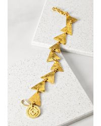 Forever 21 - Metallic Soko Triangle Charm Bracelet - Lyst
