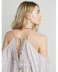 Free People - Purple Endless Summer Womens Doin It Kromper - Lyst